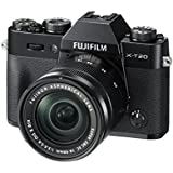 Fuji X-T20 24.3 MP 3-Inch LCD Camera with XC 16 - 50 mm MK II Lens Kit - Black
