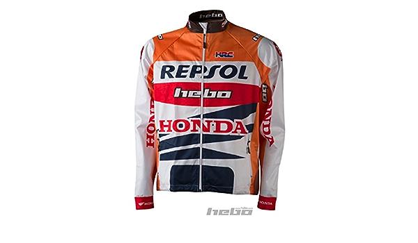 HEBO he4247txl Wind Pro Montesa Team Giacca Taglia XL Arancione