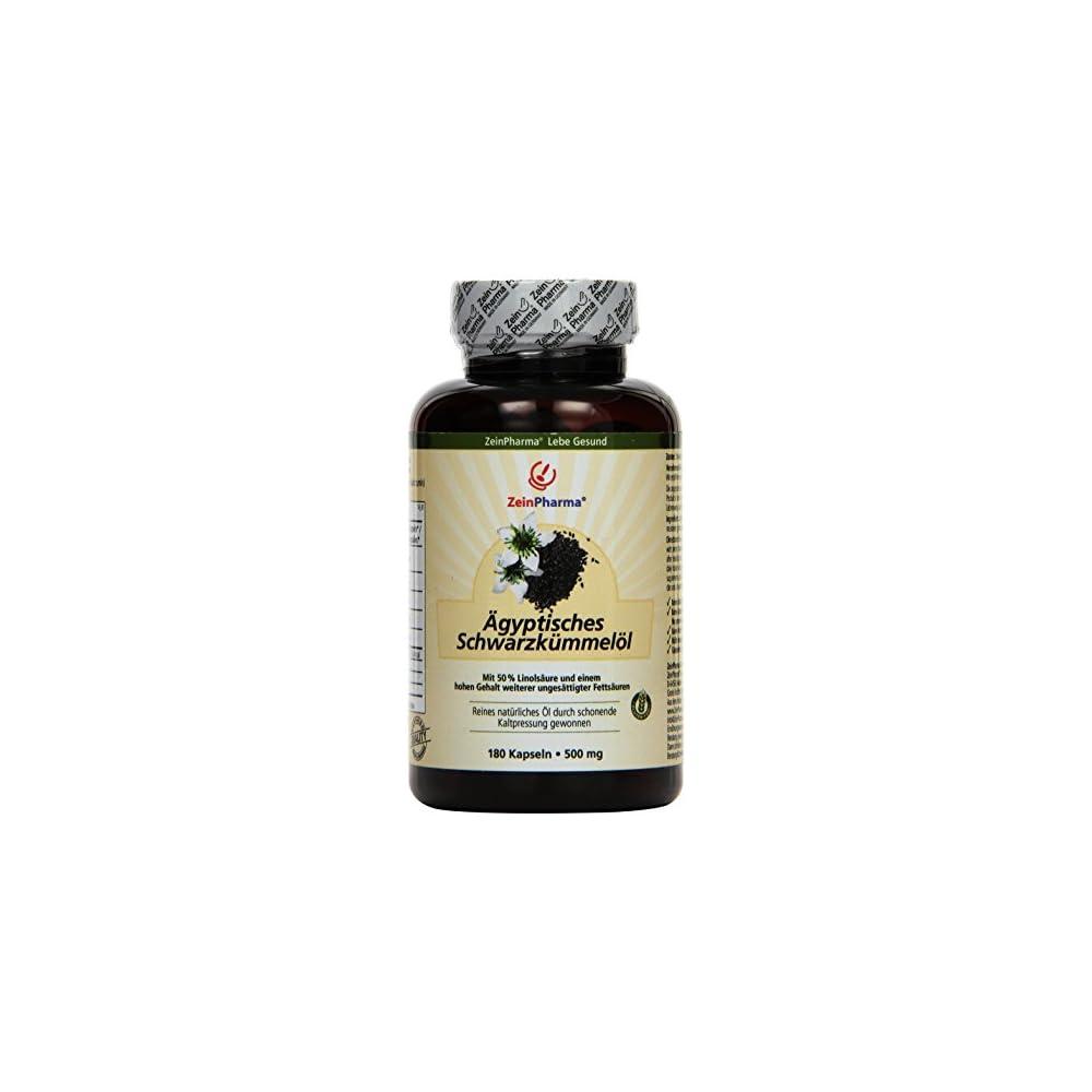 Zeinpharma Gyptische Schwarzkmmell Kapseln 1er Pack 1 X 125 G
