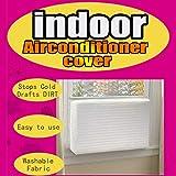 Gaddrt Abdeckung der Klimaanlage Fenster-Innenklimaanlagenabdeckung für Inneneinheit der Klimaanlage (B 63 * 43 * 5cm)