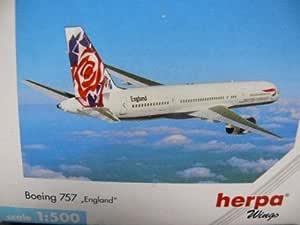 503785-1:500 Herpa Wings Boeing 757 BA CHELSEA ROSE