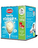 Vanilla Flavoured EasiYo Vegetarian Yoghurt Mix To Make 500g Each by EasiYo