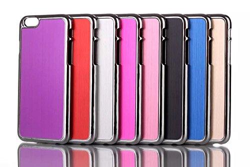Monkey Cases® iPhone 64,7pouces-Bleu brushed Aluminium Case for iPhone 6-Étui-Blue