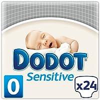 Dodot Sensitive - Pañales para recién nacido, talla 0 (1.5-2.5 kg)