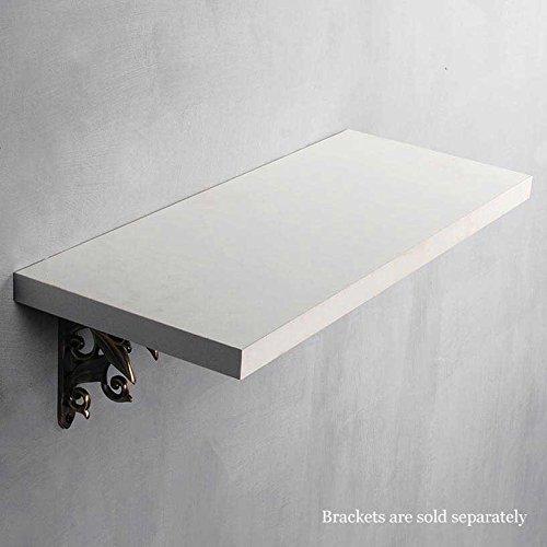 Deco Home Wall Shelf 25Mm White Wash 24