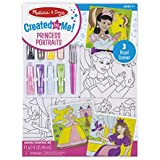 Melissa and Doug Canvas Painting Set - Princess, Multi Color