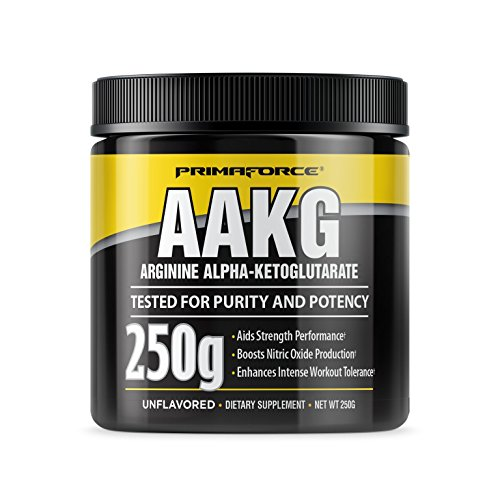 AAKG, Arginine Alpha-cétoglutarate, Unflavored, 250 g - Primaforce