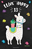 Best Books For 13 Year Old Girls - Llama Journal LLive Happy 13: Cute Happy Birthday Review