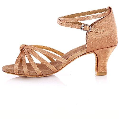 WXMDDN Ballo latino scarpa colore luce scarpe da ballo donna fondo morbido Scarpe da danza jazz balletto scarpe da ballo Colore della luce