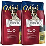 Happy Dog 2 x 4 kg Mini Africa
