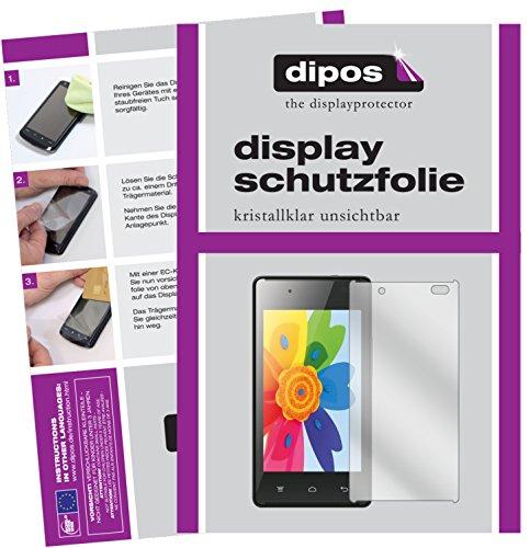 dipos I 6X Schutzfolie klar passend für Hisense HS-U610 Folie Bildschirmschutzfolie