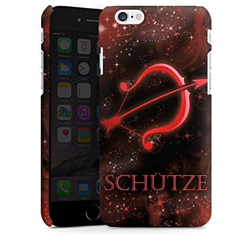 Apple iPhone X Silikon Hülle Case Schutzhülle Sternzeichen Schütze Bogen Premium Case matt