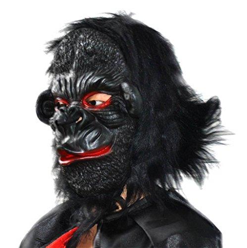 r Grimasse Maske Halloween Emulsion Maske Terror Furchtsam König Kong Maske Zombie Mumie Maske- Lustige Maske (Kühlen Mumie Kostüm)