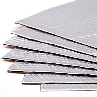 Noico 2 mm 3.4 qm Selbstklebende Alubutyl Anti Dröhn Dämmmatte, Auto Dämmung (Lärmschutz, Schalldämmung und Schallschutz für Kfz)