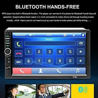 Aigoss-Autoradio-mit-Bluetooth-Freisprecheinrichtung2-Din-7-Touchscreen-Freisprech-Radio-MP5-Player-mit-Rckfahrkamera-BluetoothFMUSBAUXTFMirrorlink