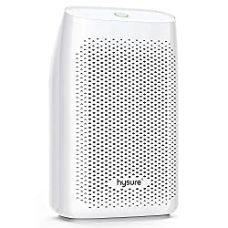 Dehumidifier Mini Room Dehumidifier Hysure Dehumidifier with 700ml Water Tank Electric Dehumidifier Dehumidifier against moisture, dirt and mold at home