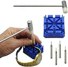 Conjunto de Herramientas portátil 6 piezas Sannysis Herramientas y kits de reparación, Reparación de Relojes, Removedor Cadenas