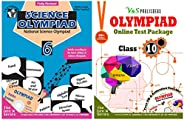 Olympiad Class 6 Online Practice Tests + Science Book For NSO (Set Of 2 Books)