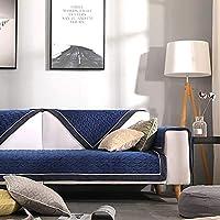 MSM Felpa Protector para sofás, Antideslizante Super Suave Simple Moderno Protector de Muebles Cojín de