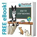 The Woof Whisperer Anti Bark Dog Collar Small Medium Large Dogs STOP BARKING No Shock Vibration Sound Training Collar… 9
