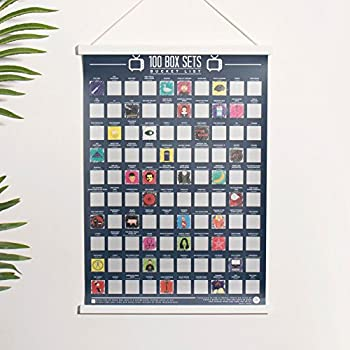 Gift Republic 100 Movies - Scratch Off Bucket List Poster ...