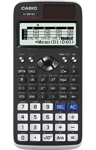 Casio FX-991EX Calculatrice Scientifique