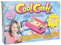 Cool Cardz - Diseña y plastifica tus tarjetas (Giochi Preziosi 58000) de Giochi Preziosi