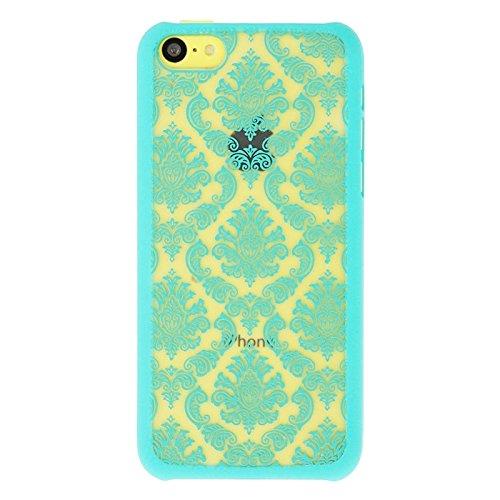wkae Schutzhülle Case & Cover Papier Schneiden Stil Kunststoff HardCase Schutzhülle FÜR iPhone 5C Blue