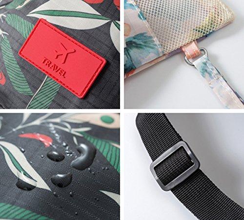 Comfysail Ein Satz von 6 Mehrfachfunktion Aufbewahrungstasche Kompressionstaschen Organizer Tasche Wäschebeutel Schuhbeutel Kosmetik Taschen für Reise