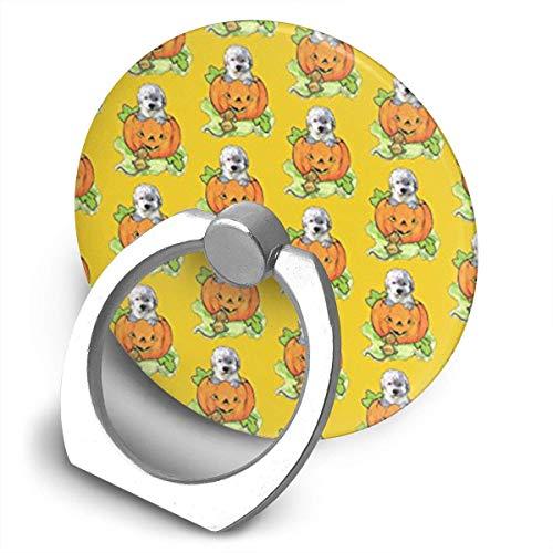 Funny & Shirt Halloween Labradoodle Welpen-Halterung, 360 Grad drehbar, kreativer Ring Schnalle Klammer Klammer Halter für Universal Handy