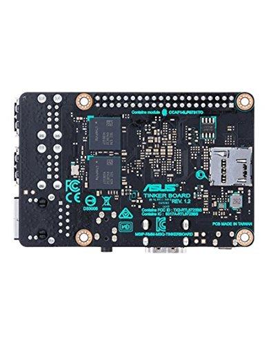 Asus Tinker Single Board Computer (Rockchip Quad-Core RK3288, 2GB DDR3, 4x USB 2.0, RTL GB LAN)