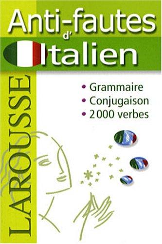 Anti-fautes d'italien