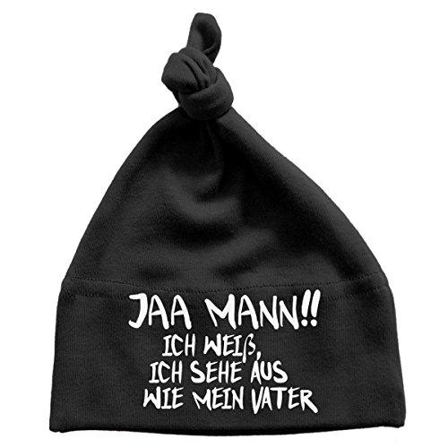 Mikalino Baby Mütze Jaa Mann!! Ich weiß, ich sehe aus wie mein Vater , Größe:0-6...