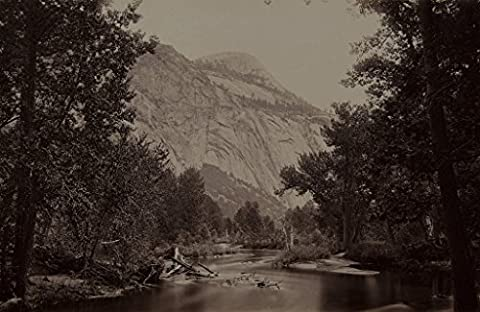 POSTER acoye The North Dome 3730 Feet Carleton Watkins American 1829 1916 1870 Print Process albumen print Gift of Frederick Currier