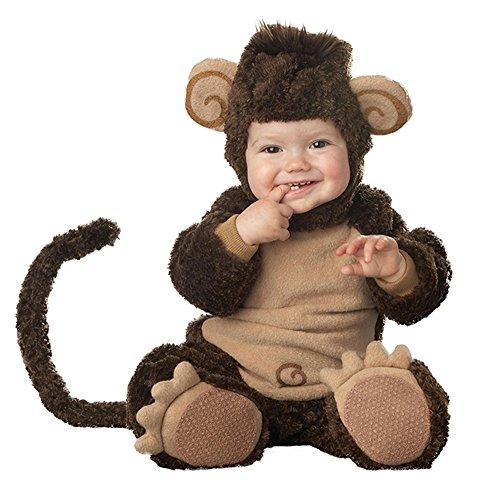 Bambino Piccolo cucciolo di scimmia costume Infant Toddler Costume natalizio tuta