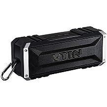 Vtin Punker Altavoz Bluetooth Estéreo Premium 20W Con Radiador Pasivo, Altavoz inalámbrico portátil con 25 HORAS de Emisión Continua para HuaWei, XiaoMi, Nexus, HTC, iPhone y iPad, etc.