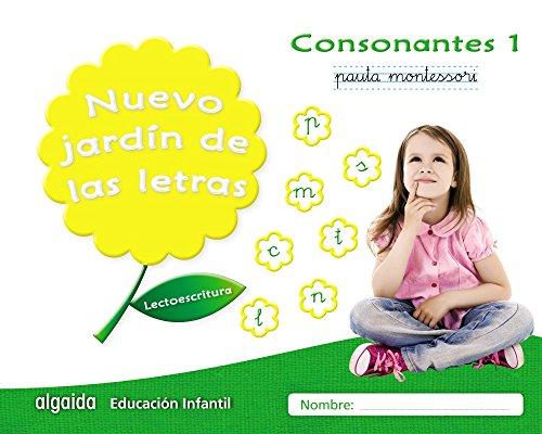 Nuevo jardín de las letras. Consonantes 1. Pauta: Lectoescritura Pauta