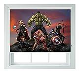 Avengers AOU Stil Verschiedene Größen Black Out Rollo für Schlafzimmer Badezimmer Küche und Wohnwagen AOA®, Audi, Avengers 5ft/152cm