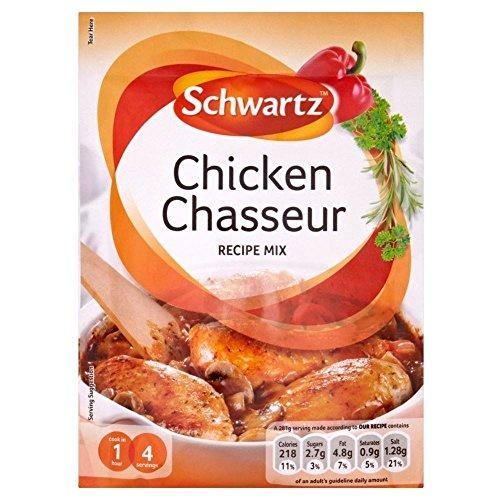 Schwartz Chicken Chasseur Recipe Mix 40G Sauce Chasseur