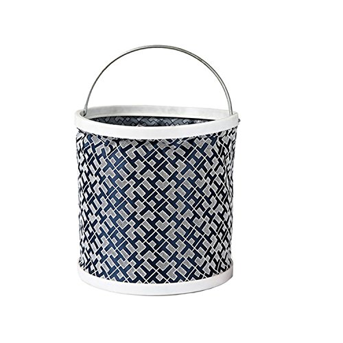 Etanche toile pliage pêche seau Godet jardinage,diameter22cm