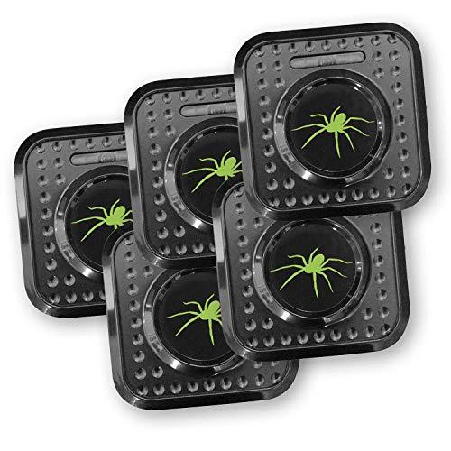 ISOTRONIC Spinnenabwehr, 230V Spinnenschutz Ultraschall Stecker | 5er Pack