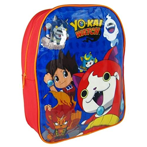 Yo-Kai Watch - Mochila Infantil Cartera Yokai, Multicolor, 31 cm
