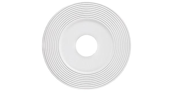 Westinghouse 7771300 16-Inch White Finish Saturn Ceiling Medallion