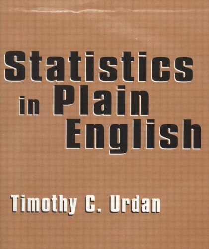 Statistics Course Pack Set 1 Op: Statistics in Plain English por Timothy C. Urdan