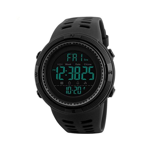 Addic Digital Black Dial Men's & Boy's Watch - Skmeimw55