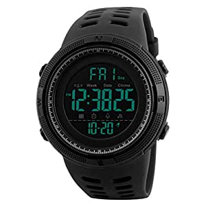 Addic Sports Digital Black Dial Men's Watch - SkmeiMW55