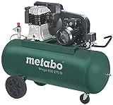 Metabo Mega 650-270 D - Compresor 5,5 CV 270 litros correas trifásico