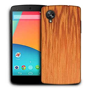 Snoogg Fire Flames Printed Protective Phone Back Case Cover For LG Google Nexus 5