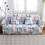 NNWW STORE DW&HX Sofaüberwurf stretch,Sofa decken Loveseat decken sitz ausgestattet 1 2 3 4 kissen sofa Für hund möbel protector kinder -A 3-sitzer