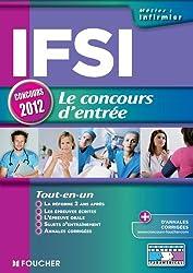 IFSI Le concours d'entrée concours 2012